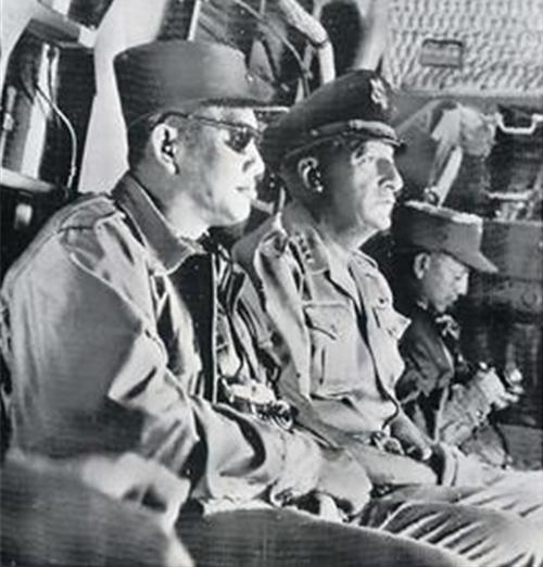 1962 U.S. Gen. Harkins w Vietnamese General Duong Van Minh