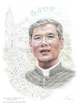Tranh do hoạ sĩ Trần Lân-Paris vẽ (Nguồn: QTNLT)
