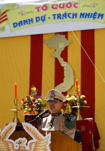 Lễ Tưởng niệm do Hội Cựu Quân Nhân QLVNCH Ontario tổ chức tại Toronto ngày 29-1-2011