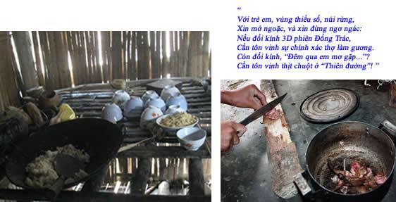 Bếp ăn của học sinh miền núi VN