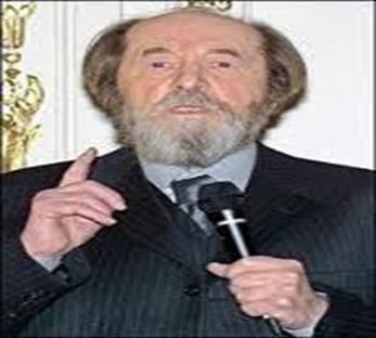 Nhà văn Nga Alexandre Soljenitsym