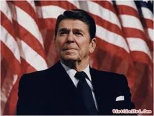 Tổng thống Mỹ Ronald Reagan.