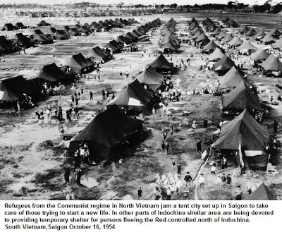 Trại Tạm Cư Cho Người Bắc Mới Di Cư Vào Nam