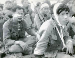 Những người lính Phước long chạy lên Quảng Đức về tới phi trường Biên Hoà ngày 12/1/1975