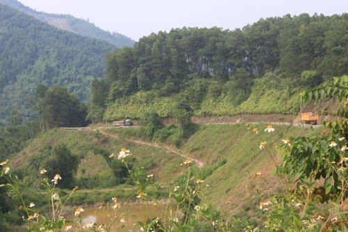 Ðường núi huyện Trấn yên, tỉnh Yên bái