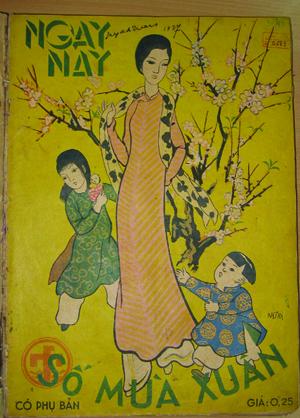 Bìa báo Ngày Nay số Xuân năm 1937