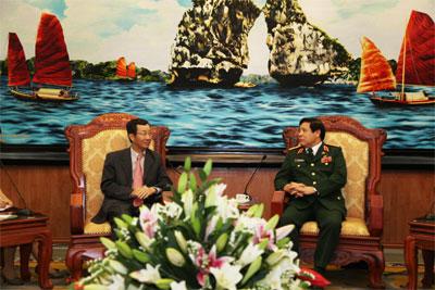 Phùng Quang Thanh và Tôn Quốc Tường