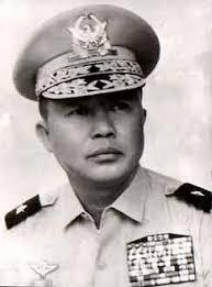 Chuẩn Tướng Trần Văn Hai Tư Lệnh Cảnh Sát Quốc Gia 1970.