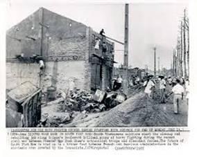 Dọn dẹp, xây dựng lại dọc đường Gallieni (nay là Trần Hưng Đạo) sau trận đánh dẹp phiến quân Bình Xuyên 1955
