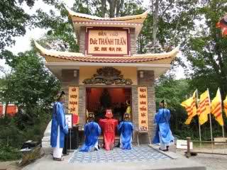 Đền thờ Đức Thánh Trần (Trần Hưng Đạo) (http://www.vietlandnews.net/forum/showthread.php?t=11641)