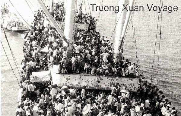 Tàu Trường Xuân chờ Tàu kéo Song An, Saigon, 30/4/1975