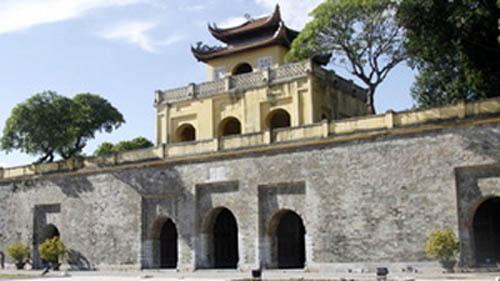 Cổng Đoan Môn - Hoàng thành Thăng Long.  Ảnh: HH