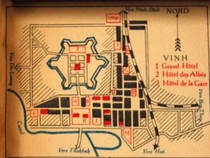 Bản đồ Vinh thời Pháp