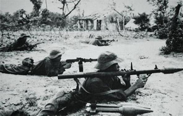 Bộ đội tại cổ thành Quảng Trị 1972