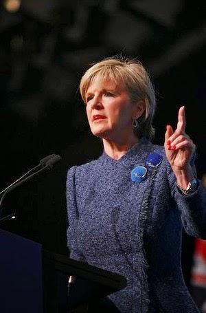 Ngoại trưởng Julie Bishop @smh.com.au