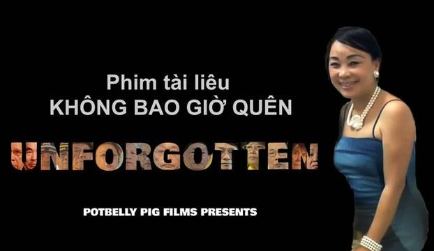 Tác giả bộ phim, nhà văn, nhà báo, người sáng lập kiêm đạo diện của Potbelly Pig Films, cô Diễm Thúy (RFA files)