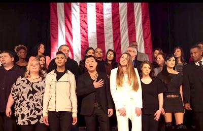 Một cảnh trong clip của bài hát Nation of America.  (Hình chụp qua Youtube)