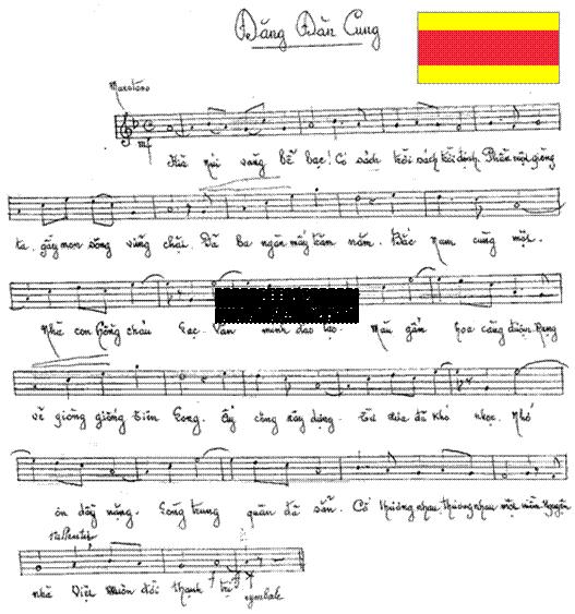 Ký âm bài ĐĐC Quốc ca