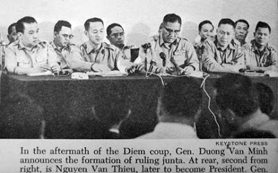 Những tướng tá đã tham gia vụ đảo chánh ngày 01/11/1963