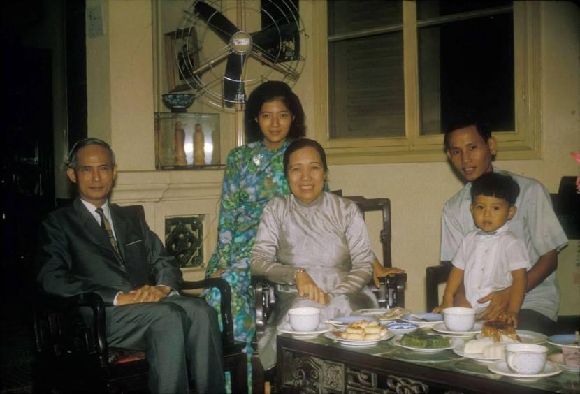 Gia đình Thủ Tướng Phan Huy Quát