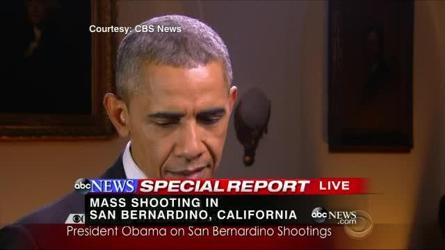 Hình: Tổng Thống Obama lên tiếng về vụ thảm sát tại San Bernardino, California