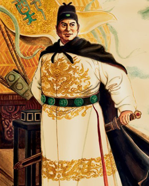 Chân dung Trịnh Hoà (nguồn: http://www.muslimheritage.com/article/zheng-he-chinese-muslim-admiral)