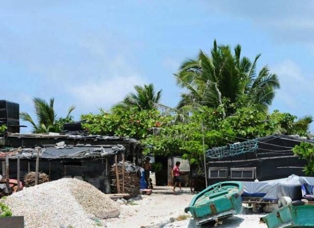 Cư dân trên các đảo ở Hoàng Sa