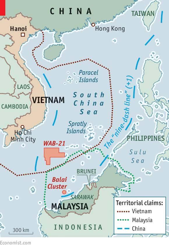 Bản đồ 9 đoạn +1 áp đặt chủ quyền hơn 80% biển Đông của TQ
