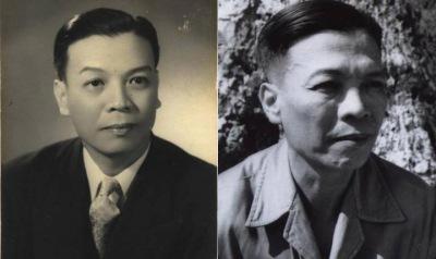 Hình Ls. Nguyễn Mạnh Tường hồi trẻ và 1952.