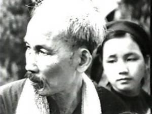 HCM và Nông Thị Xuân 1956