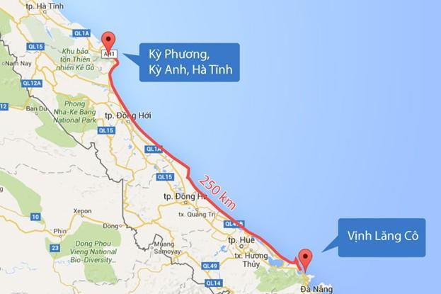Cá chết dọc 250 cây số bờ biển miền Trung