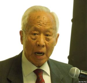 Cựu Tổng trưởng Kinh tế Phạm Kim Ngọc (ảnh Bùi Văn Phú)