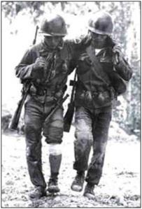 Tình đồng đội người Lính VNCH (hình minh hoạ)